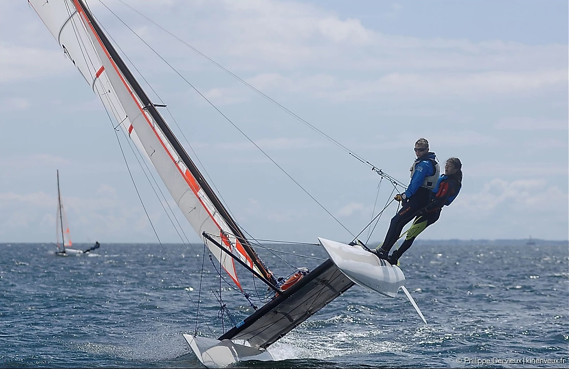 2018 - Régate National Quiberon (dépt. 56) : National jeune catamaran